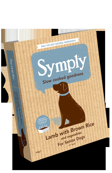 Brown Rice For Dogs  Lamb with Brown Rice For Senior Dogs