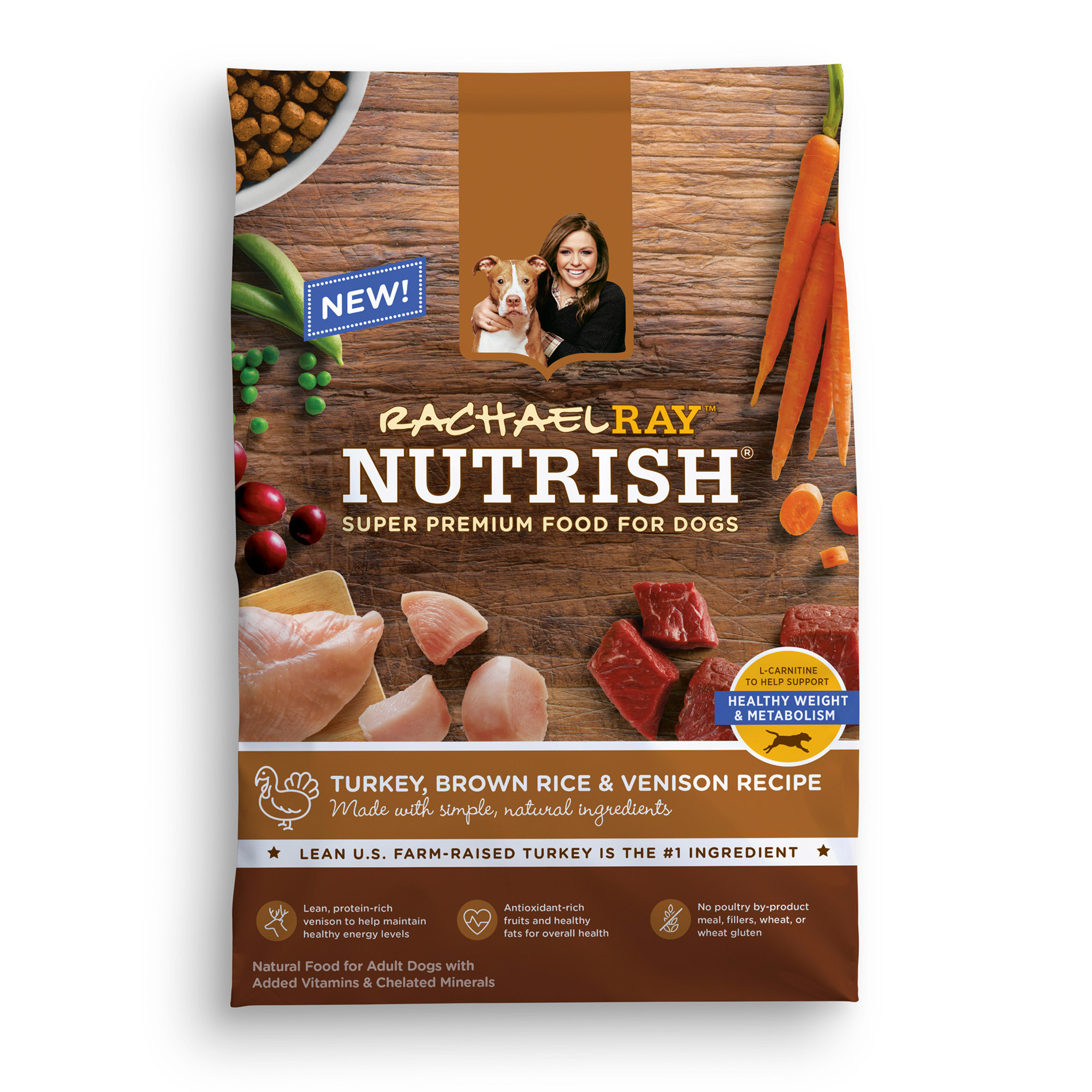 Brown Rice For Dogs  Rachael Ray Nutrish Natural Dry Dog Food Turkey Brown