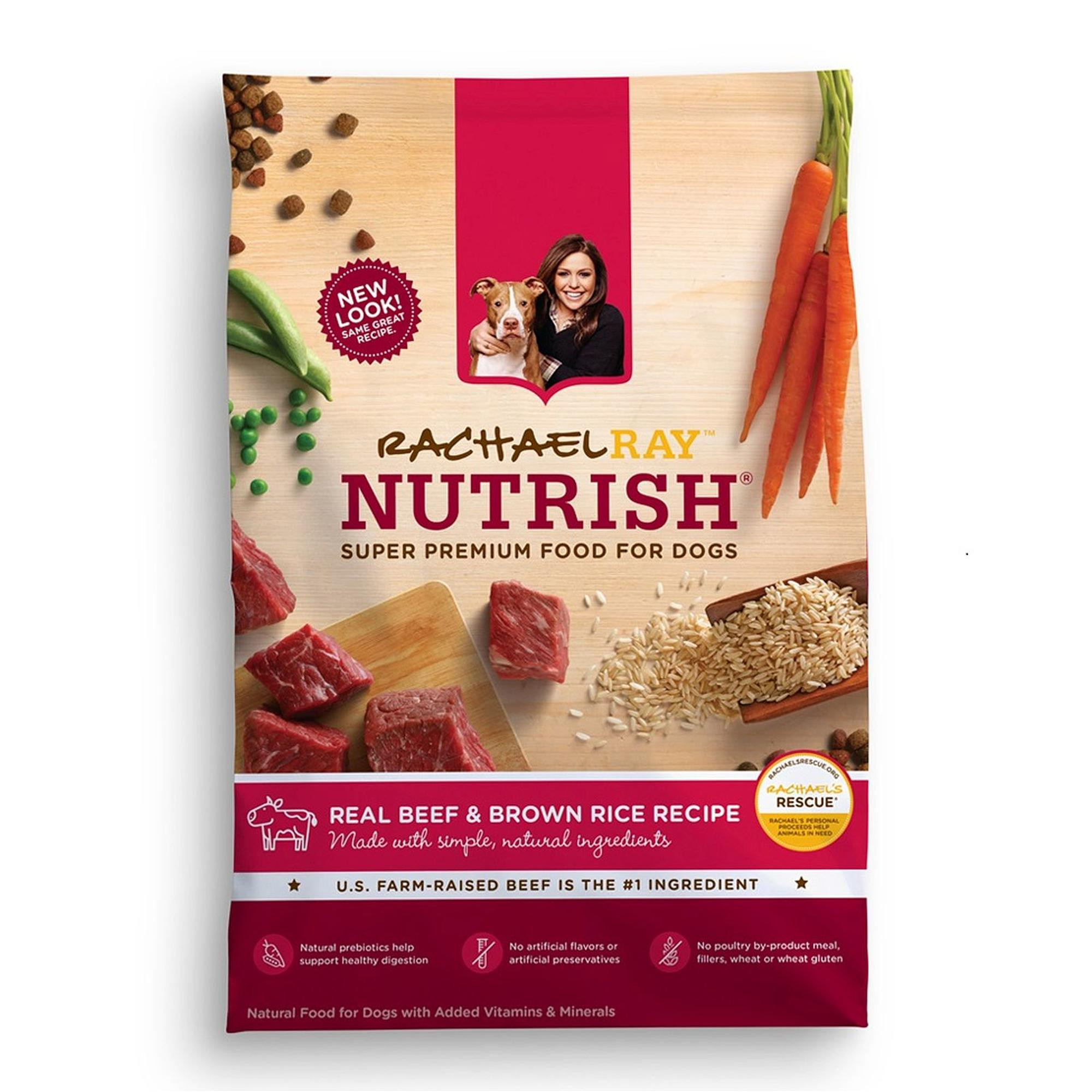 Brown Rice For Dogs  Rachael Ray Nutrish Natural Dry Dog Food Real Beef and
