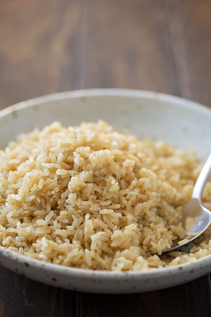 Brown Rice In The Instant Pot  Instant Pot Brown Rice Life Made Simple