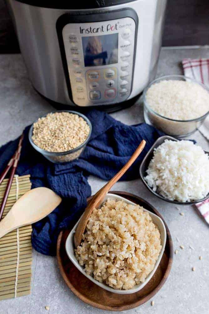 Brown Rice In The Instant Pot  Instant Pot Rice