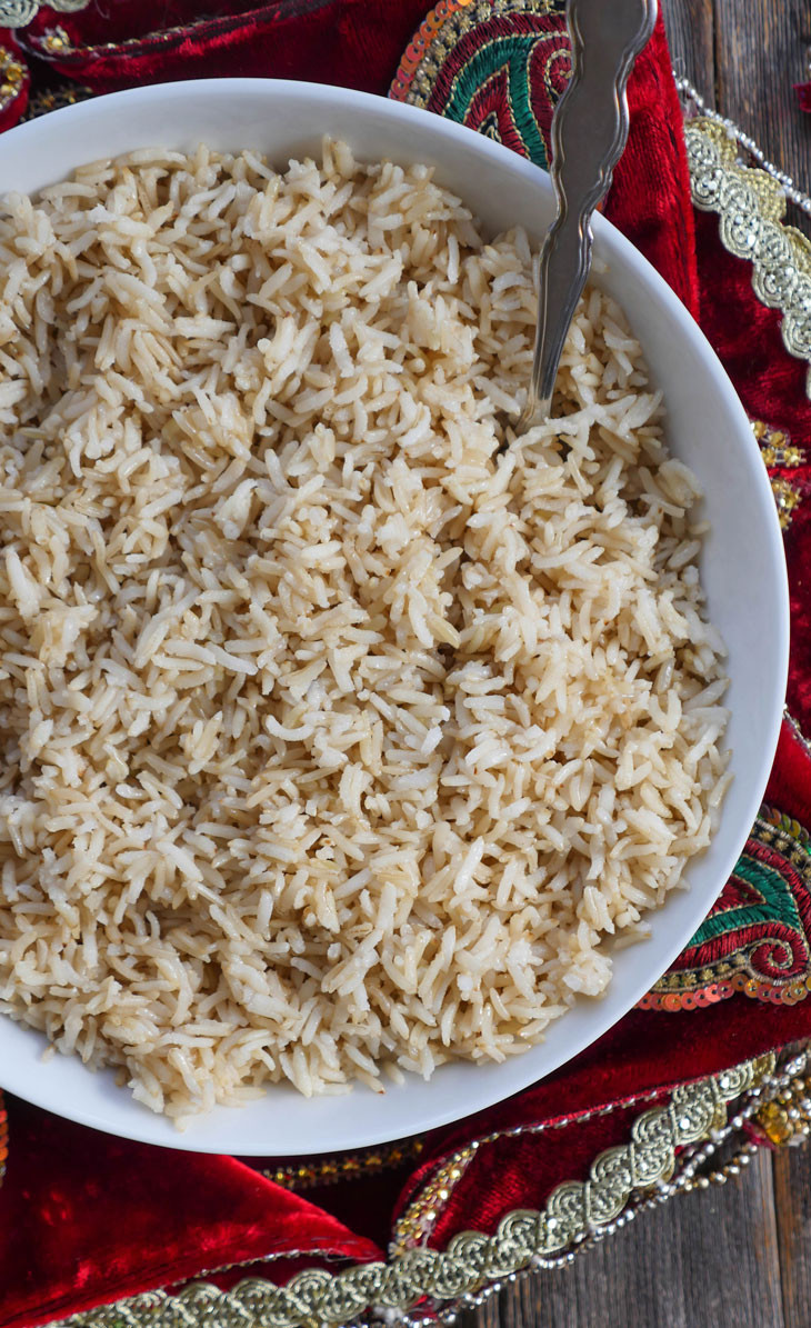 Brown Rice In The Instant Pot  Instant Pot Brown Basmati Rice