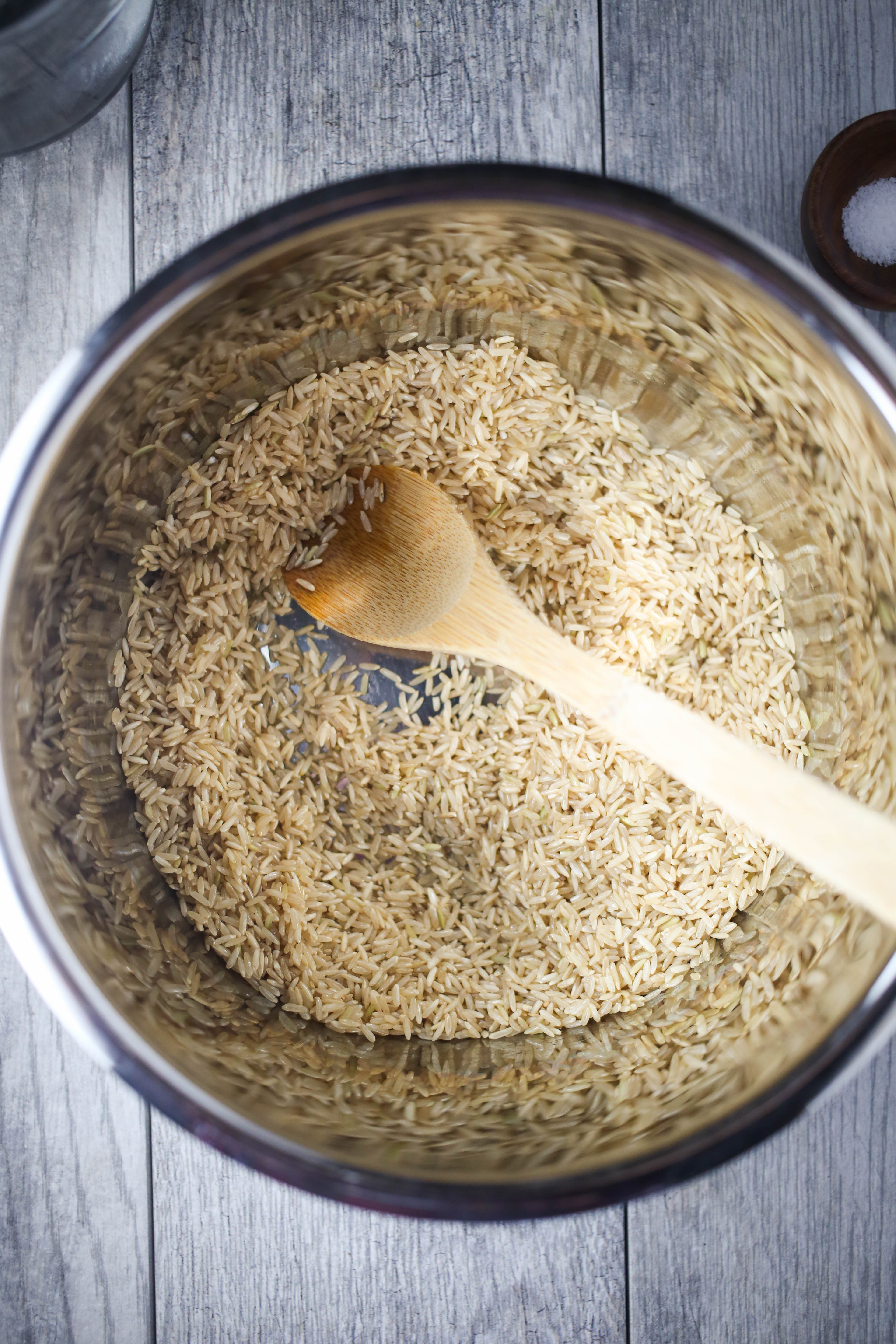 Brown Rice In The Instant Pot  How to make Brown Rice in the Instant Pot