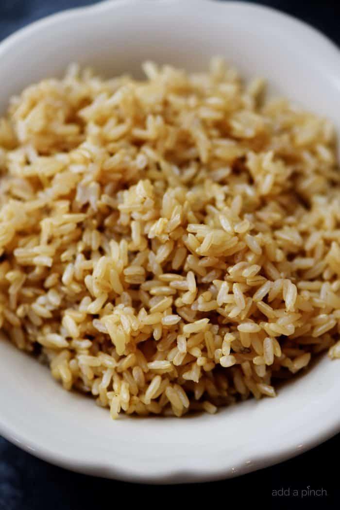 Brown Rice Instant Pot  Instant Pot Brown Rice Recipe Add a Pinch