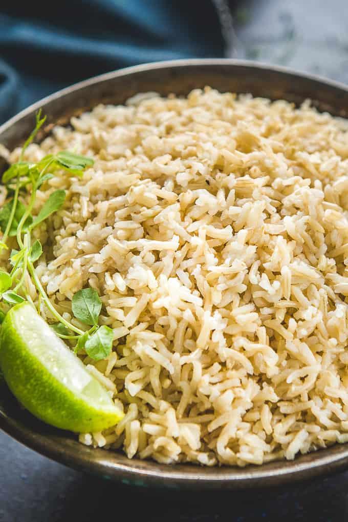 Brown Rice Instant Pot  Instant Pot Brown Rice Recipe Pressure Cooker Video