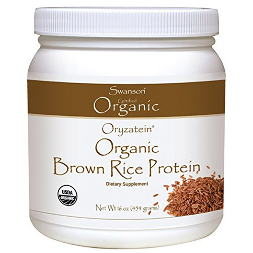 Brown Rice Protein  Oryzatein Pure Brown Rice Protein – 16 ounces oz – 454