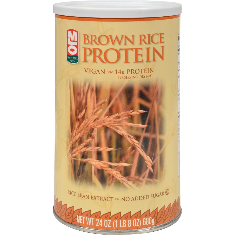 Brown Rice Protein  MLO Brown Rice Protein Powder 24 oz