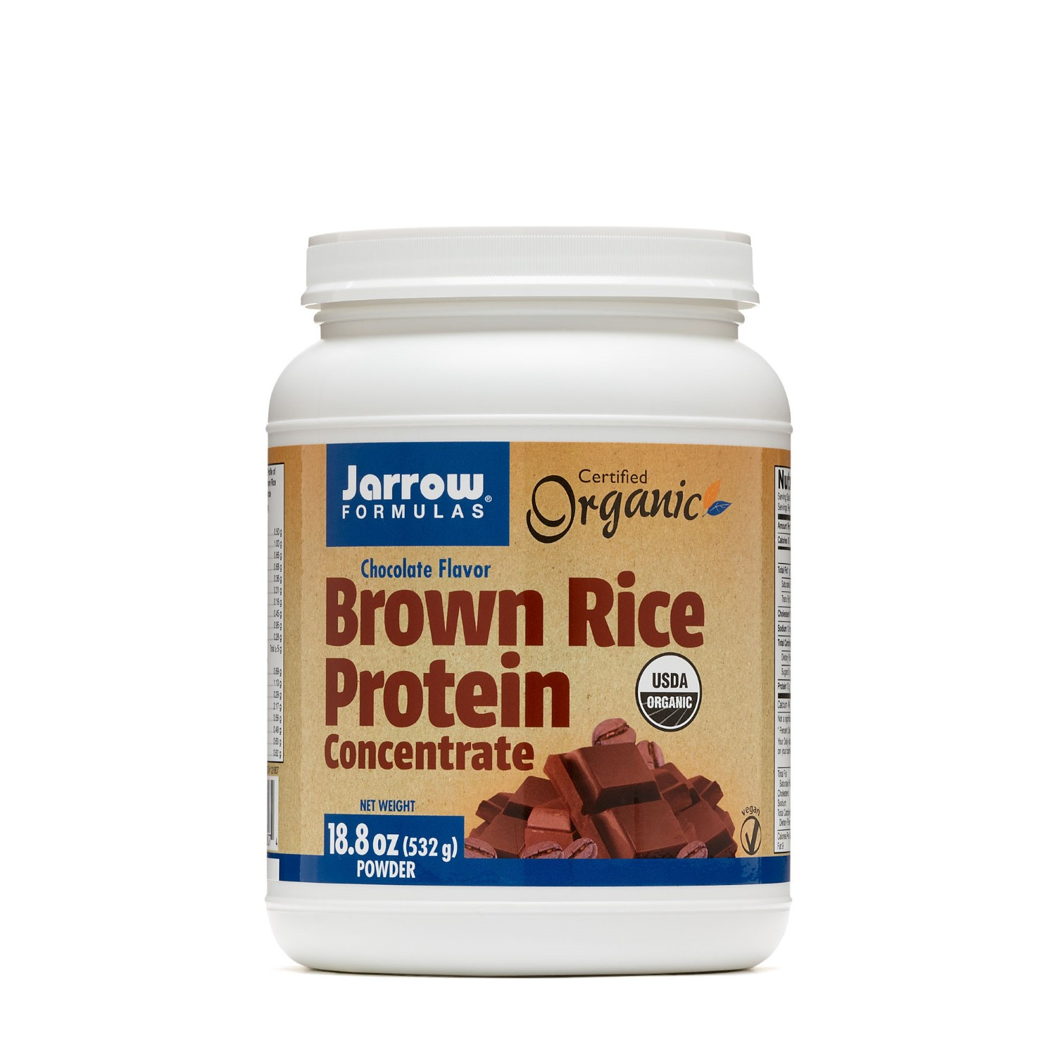 Brown Rice Protein  Brown Rice Protein Chocolate By Jarrow 1 2 Pounds