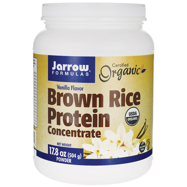 Brown Rice Protein  Jarrow Formulas Inc Brown Rice Protein Concentrate