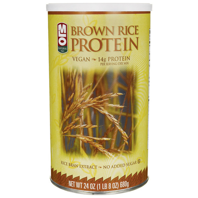 Brown Rice Protein  MLO Brown Rice Protein 24 oz Pwdr Swanson Health Products