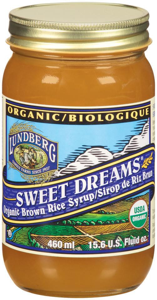 Brown Rice Syrup  Lundberg Family Farms Organic Swt Drm Brown Rice Syrup