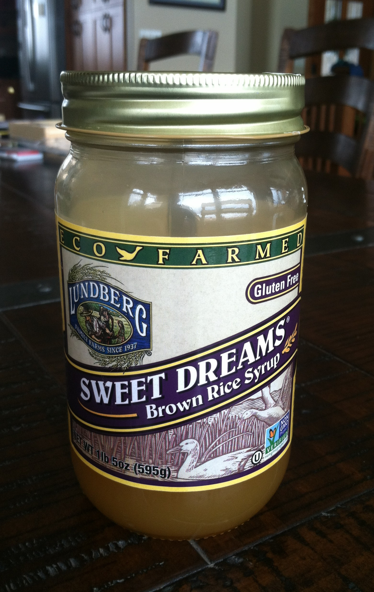 Brown Rice Syrup  Product Review Sweet Dreams Brown Rice Syrup At My