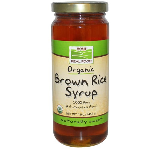 Brown Rice Syrup  NOW FOODS Brown Rice Syrup NutraPlanet