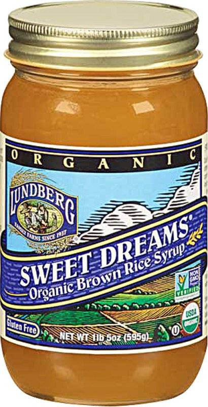 Brown Rice Syrup  Lundberg Farms Organic Brown Rice Syrup 21 oz 6 Pack