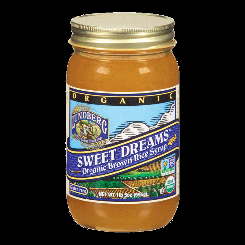 Brown Rice Syrup  ORGANIC SWEET DREAMS BROWN RICE SYRUP