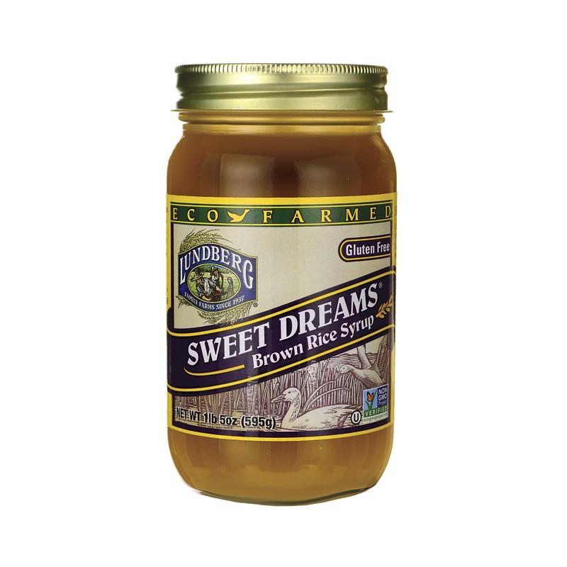 Brown Rice Syrup  Sweet Dreams Brown Rice Syrup 21 fl oz Jar