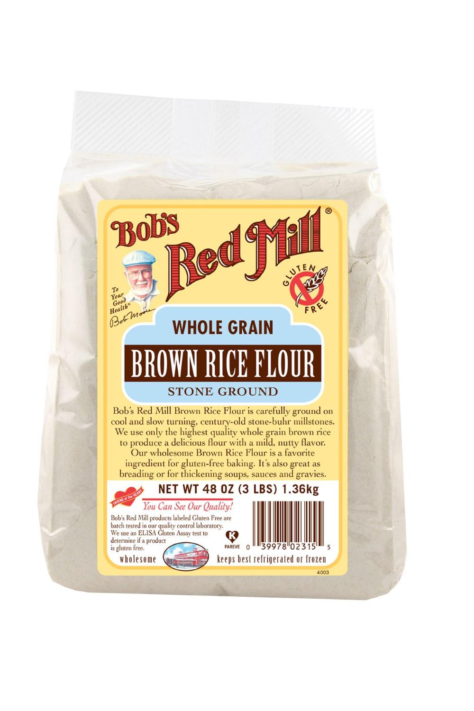 Brown Rice Walmart  Bob s Red Mill Brown Rice Flour 48 Oz