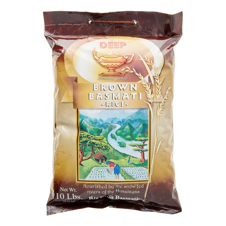 Brown Rice Walmart  Deep Brown Basmati Rice 10 Lb