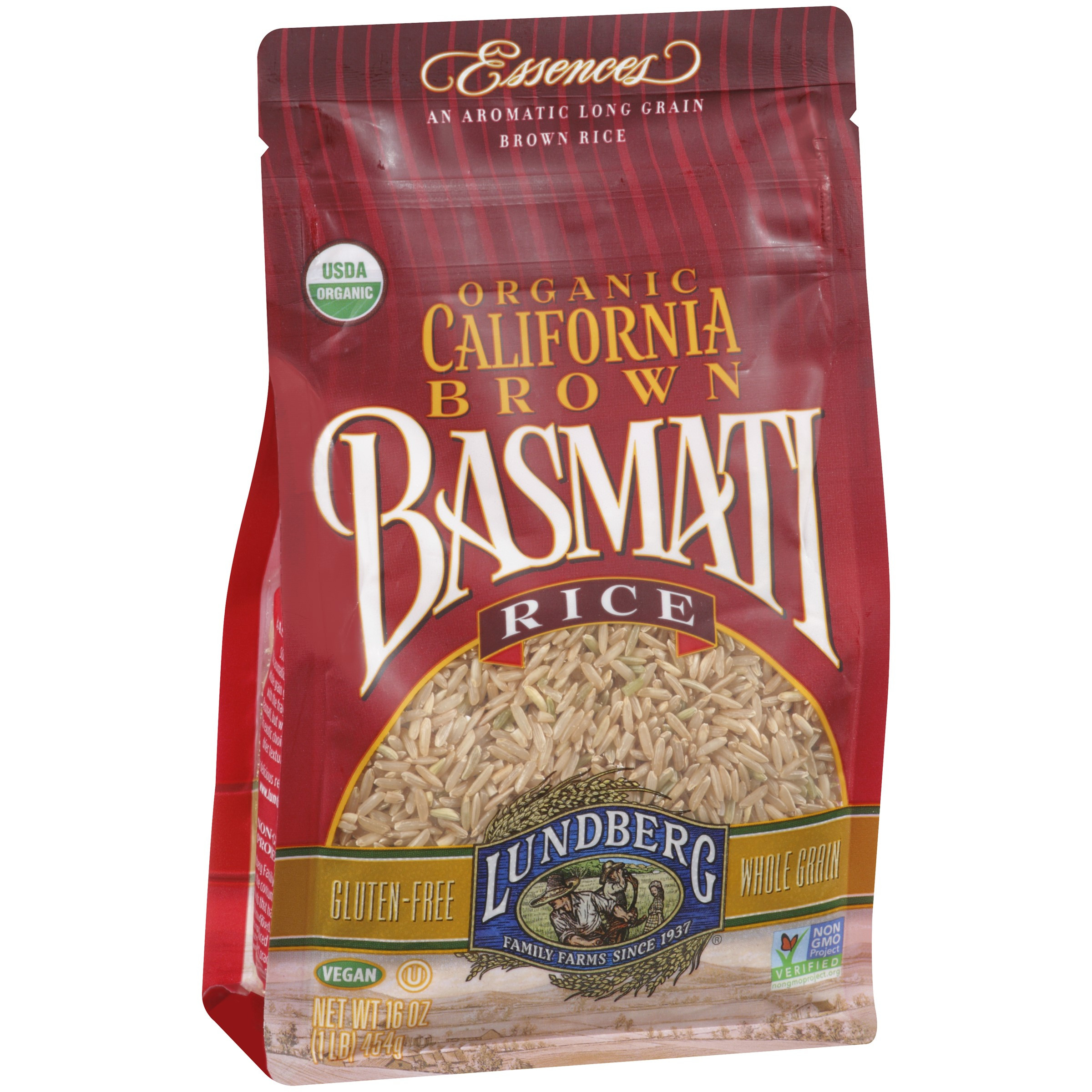Brown Rice Walmart  Lundberg Organic California Basmati Rice Brown 16 Ounce