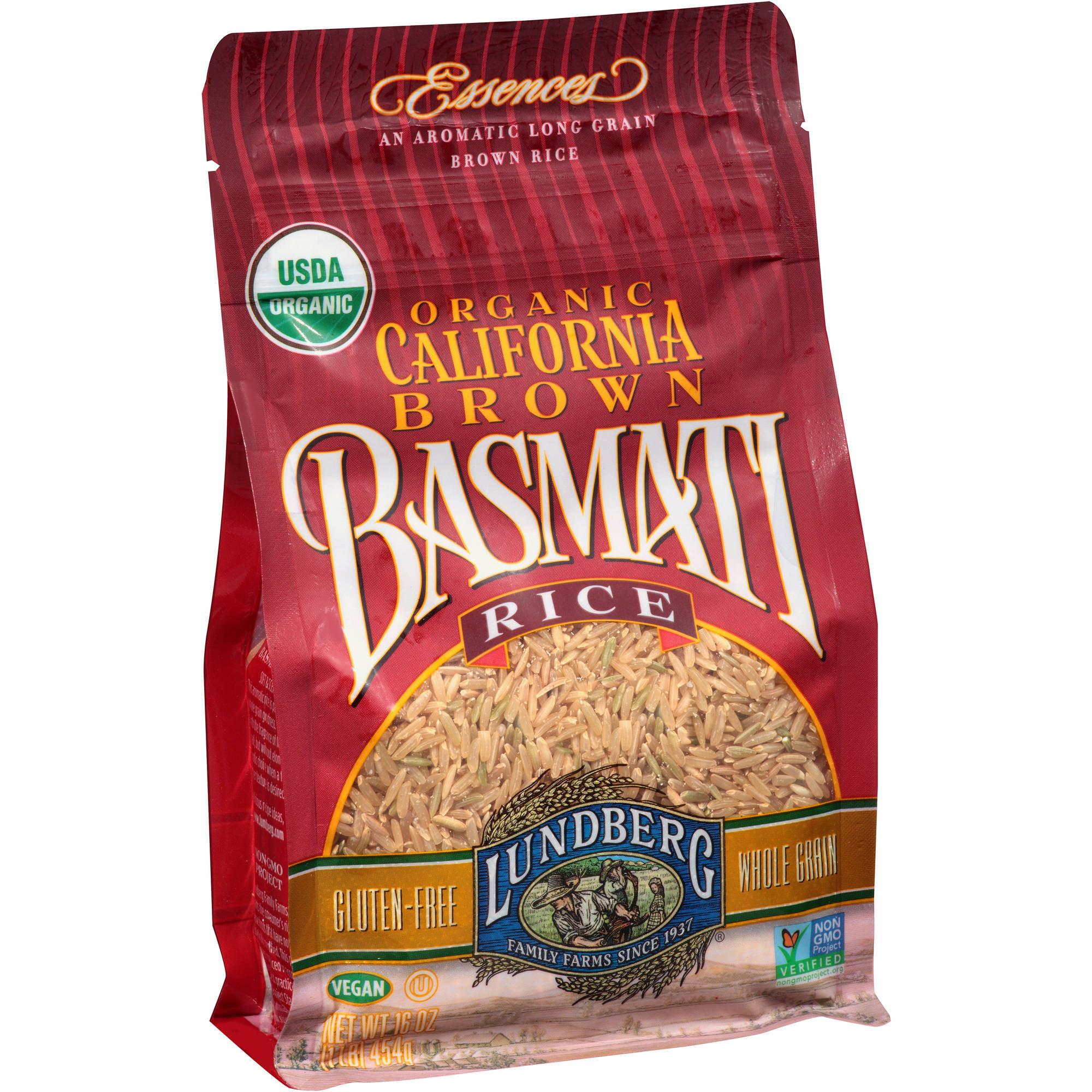 Brown Rice Walmart  Texmati Organic Brown Rice 32 oz Pack of 4 Walmart