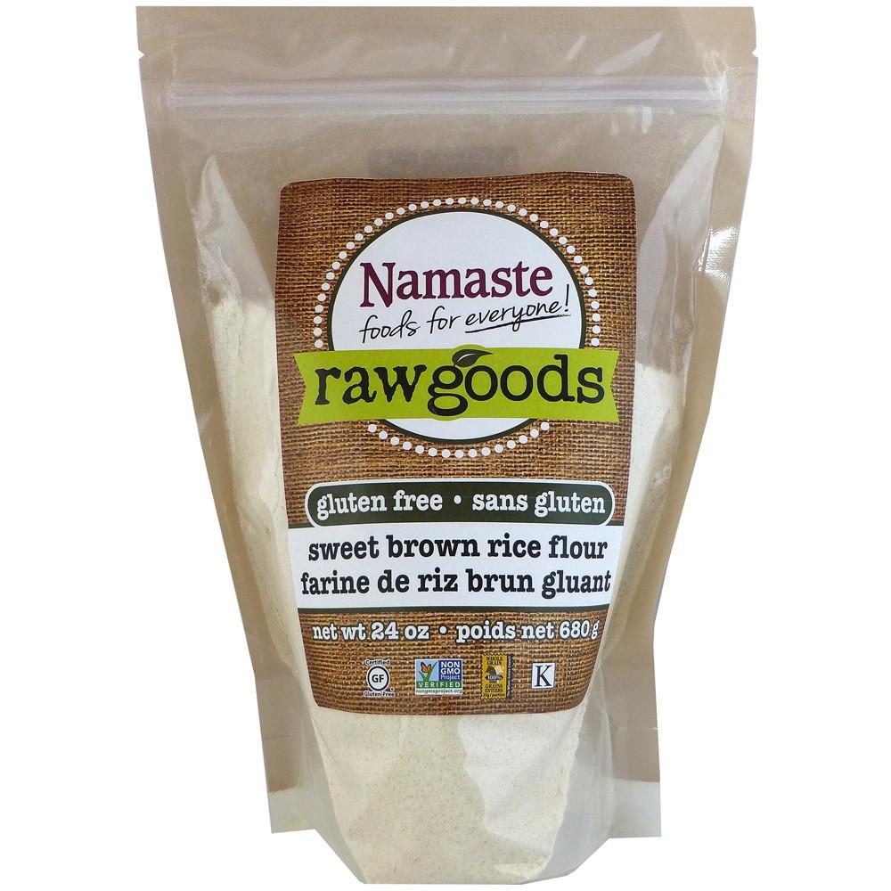 Brown Rice Walmart  Namaste Foods Raw Goods Gluten Free Sweet Brown Rice Flour