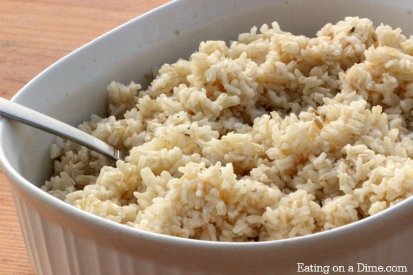 Brown Rice Water Ratio  How to Cook Brown Rice in Microwave Eating on a Dime