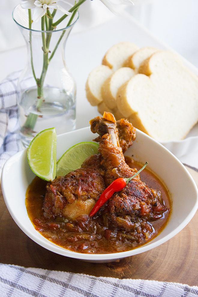Brown Stew Chicken  Jamaican Brown Stew Chicken Recipe Munaty Cooking