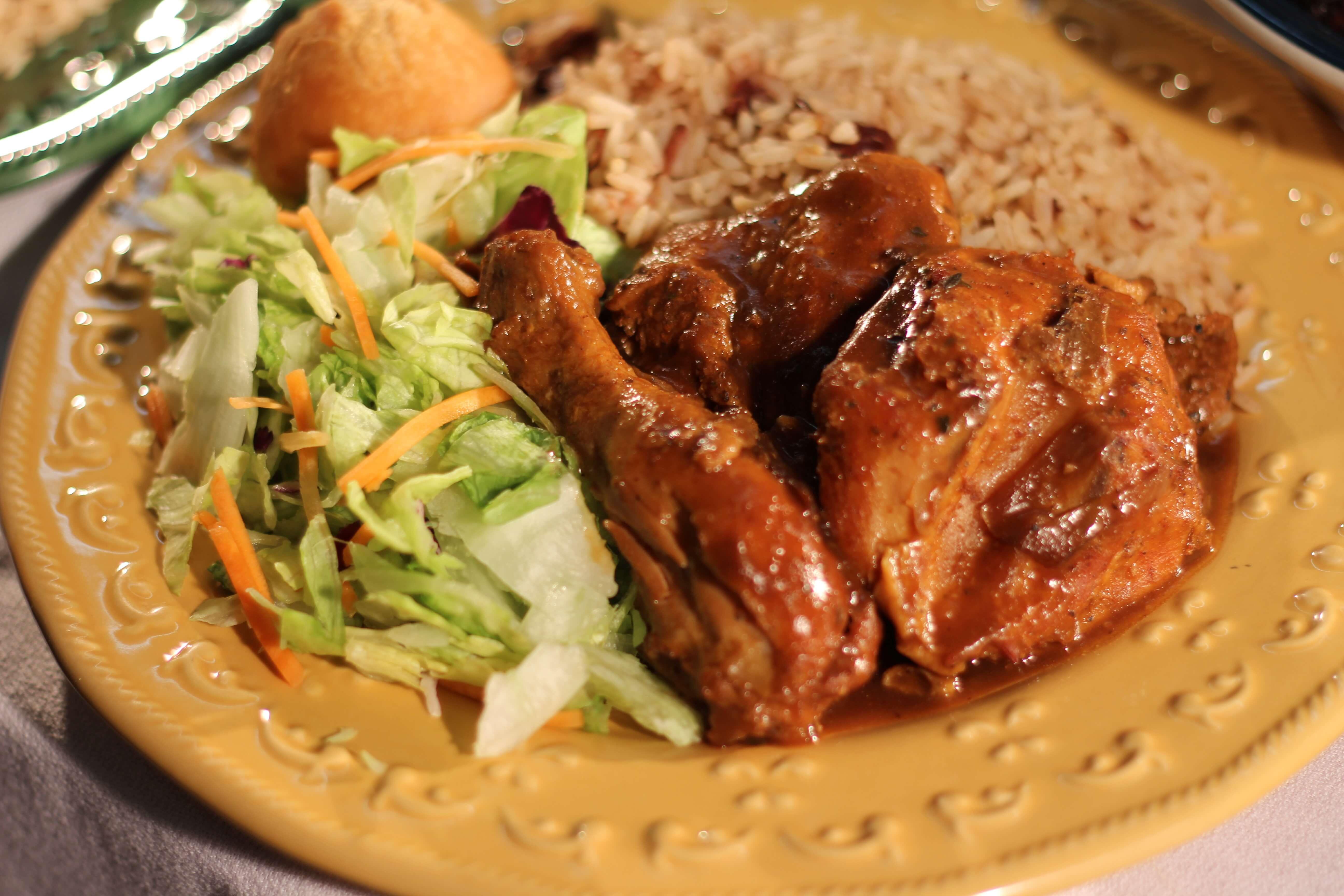Brown Stew Chicken  Amazing Caribbean Brown Stew Chicken Jamaican Taste