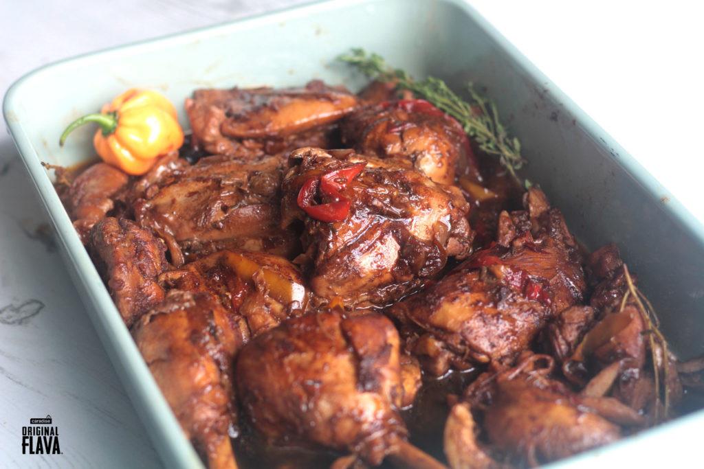 Brown Stew Chicken  Brown stew chicken