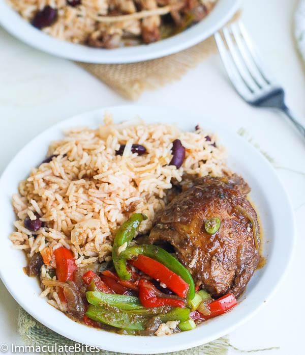 Brown Stew Chicken  Slow Cooker Jamaican Brown Stew Chicken Immaculate Bites