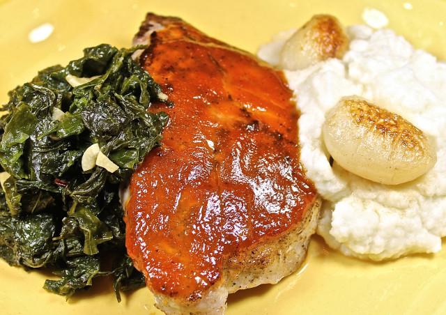Brown Sugar Glazed Pork Chops  Bourbon And Brown Sugar Glazed Pork Chops