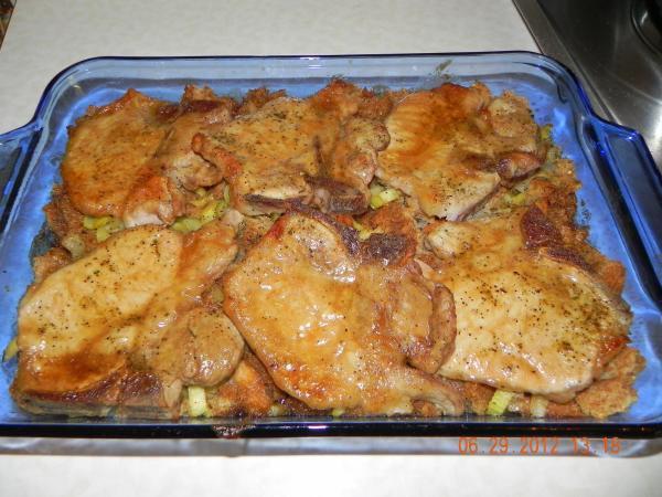 Brown Sugar Glazed Pork Chops  Brown Sugar Glazed Pork Chops Recipe
