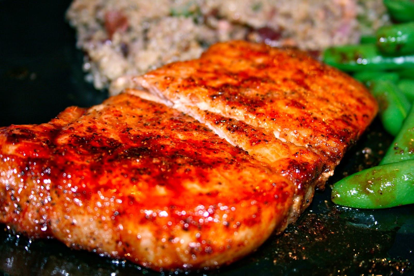 Brown Sugar Glazed Pork Chops  Like Mother s Like Daughter s Kitchen Brown Sugar Glazed