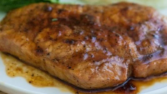 Brown Sugar Glazed Pork Chops  Crown of Rubies Brown Sugar Glazed Pork Chops