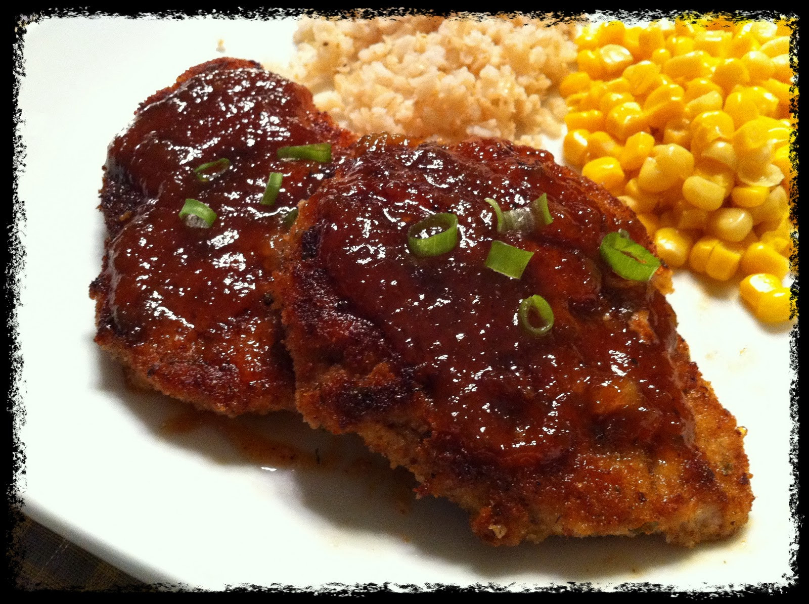 Brown Sugar Glazed Pork Chops  Scrumptious Recreations Brown Sugar Glazed Pork Chops