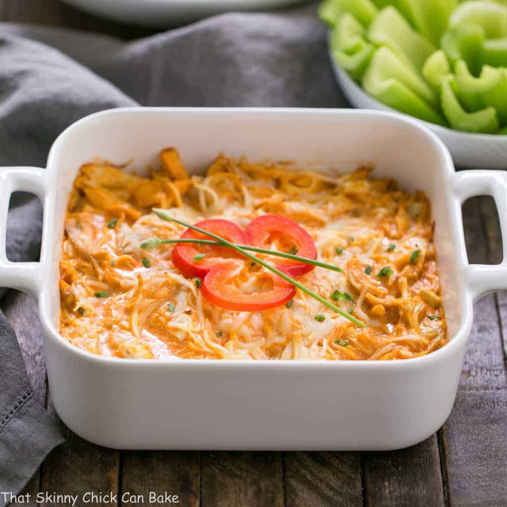Buffalo Chicken Dip Recipes  Buffalo Chicken Dip Recipe That Skinny Chick Can Bake