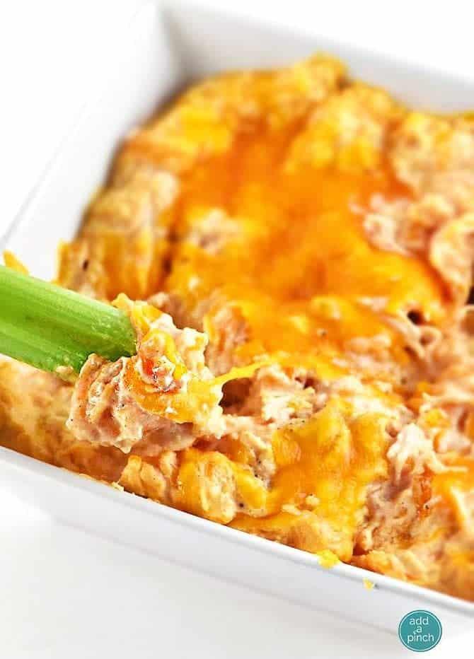 Buffalo Chicken Dip Recipes  Buffalo Chicken Dip Recipe Add a Pinch