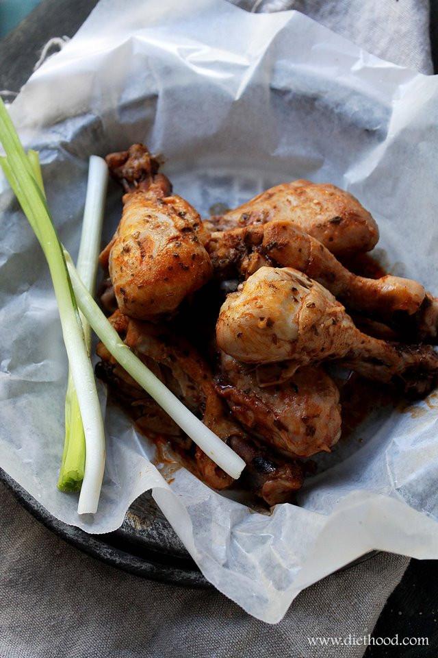 Buffalo Chicken Legs  15 Tasty Slow Cooker Chicken Drumsticks Recipes