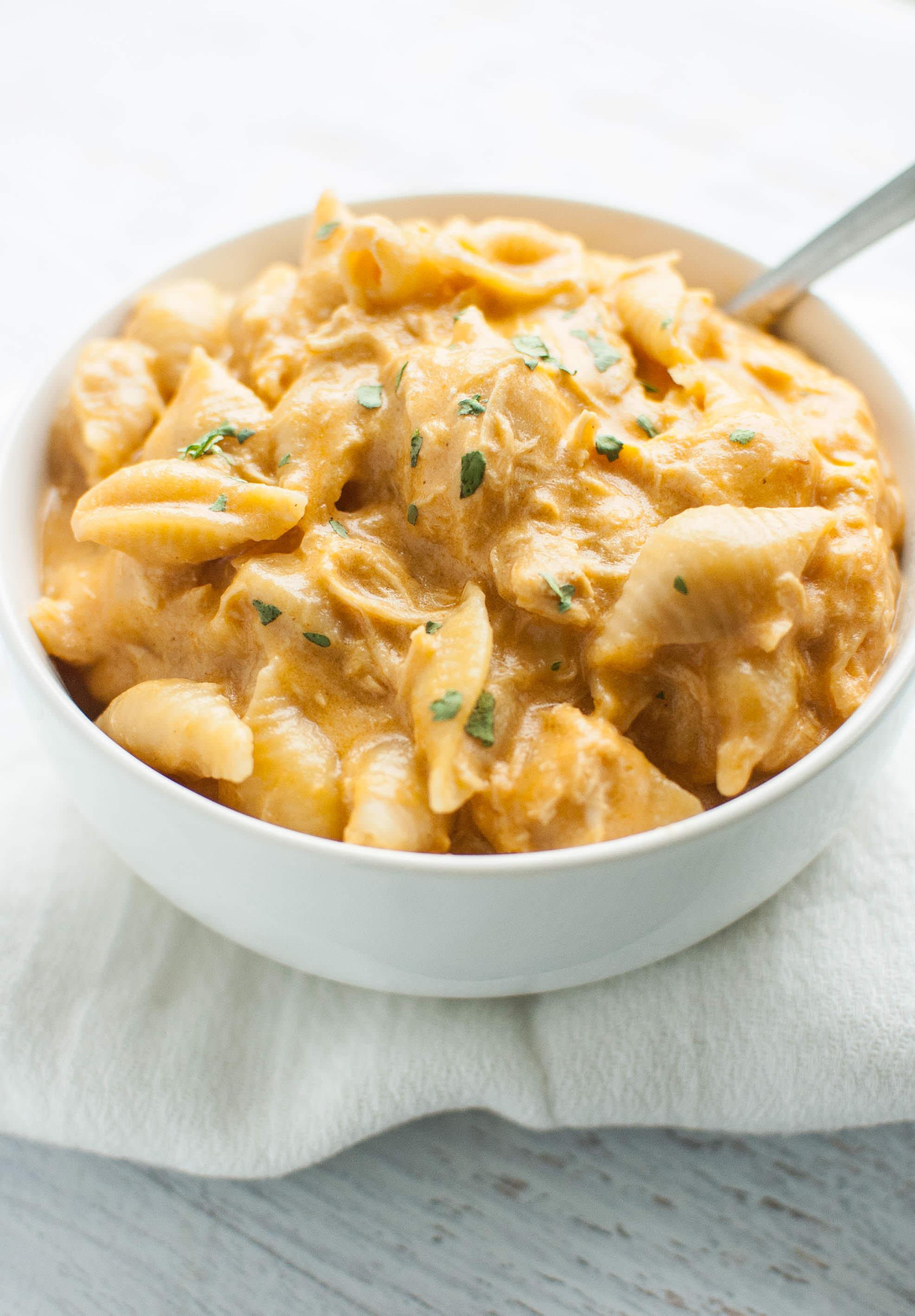 Buffalo Chicken Macaroni And Cheese Recipes  Slow Cooker Buffalo Chicken Mac and Cheese Slow Cooker