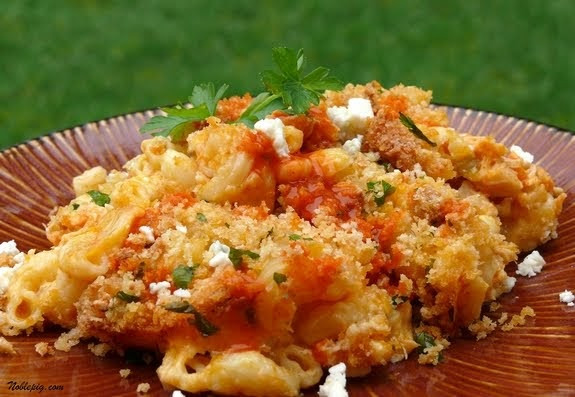 Buffalo Chicken Macaroni And Cheese Recipes  Home Baked Memories Buffalo Chicken Macaroni and Cheese