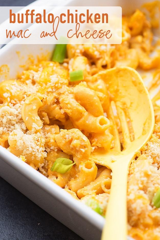 Buffalo Chicken Macaroni And Cheese Recipes  chicken mac and cheese bake