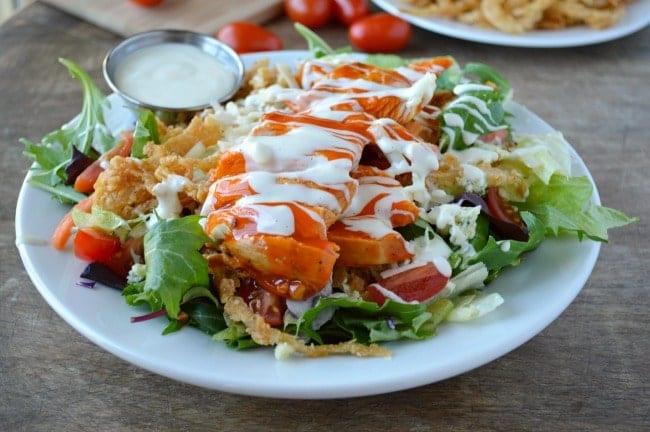 Buffalo Chicken Salad  Big Bad Buffalo Chicken Salad Sugar Dish Me