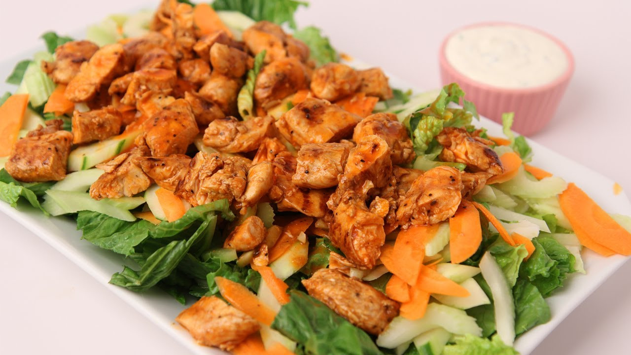 Buffalo Chicken Salad  Buffalo Chicken Salad Recipe Laura Vitale Laura in the