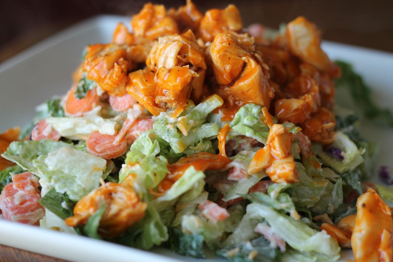 Buffalo Chicken Salad  Mrs Schwartz s Kitchen Chopped Buffalo Chicken Salad