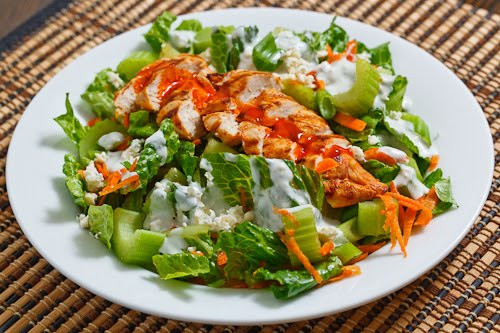Buffalo Chicken Salad  Buffalo Chicken Salad on Closet Cooking