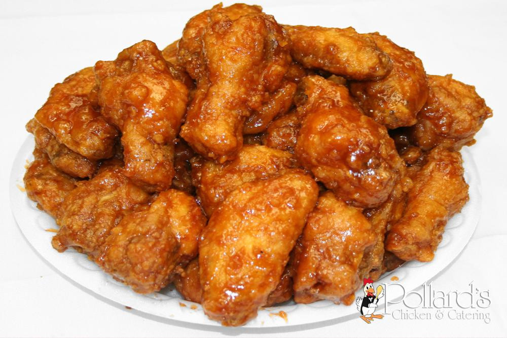 Bulk Chicken Wings  Honey BBQ Wings pollardschicken