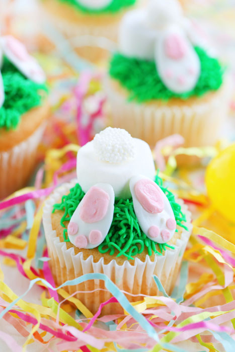 Bunny Butt Cupcakes  23 Best Easter Cakes Ideas & Recipes for Cute Easter Cakes