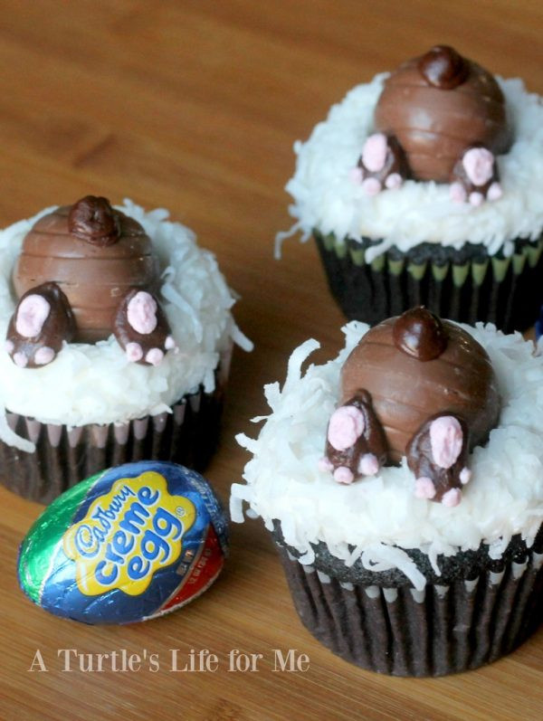 Bunny Butt Cupcakes  Easter Sweets and Adorable Treats Design Dazzle