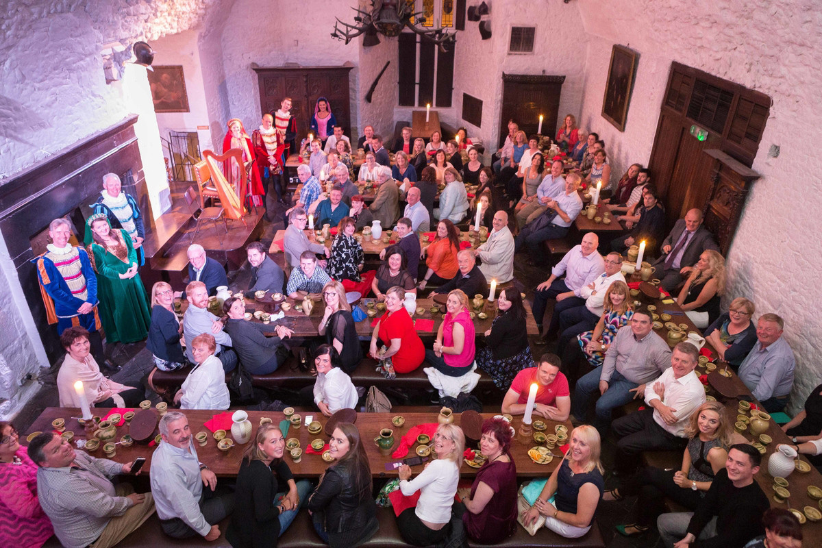 Bunratty Castle Dinner  Bunratty Castle Me val Banquet a hit with corporate