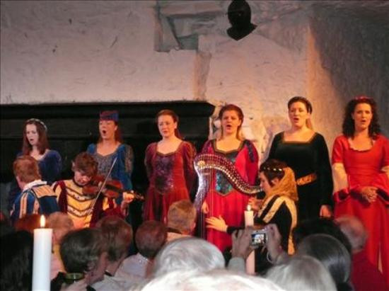 Bunratty Castle Dinner  Bunratty Castle dinner show Picture of Bunratty County